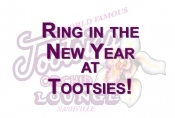 new years eve at tootsies