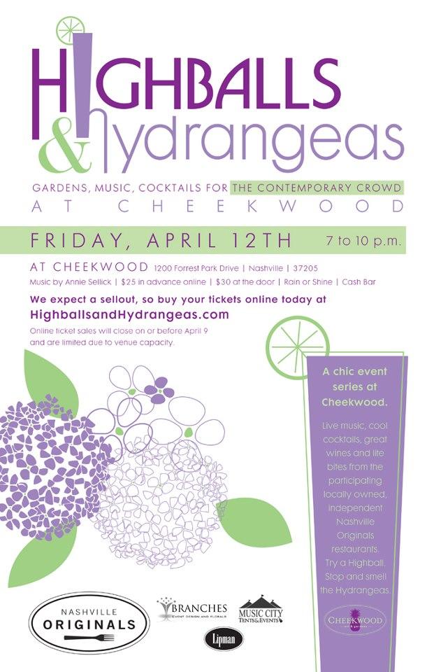 Highballs & Hydrangeas - Cheekwood