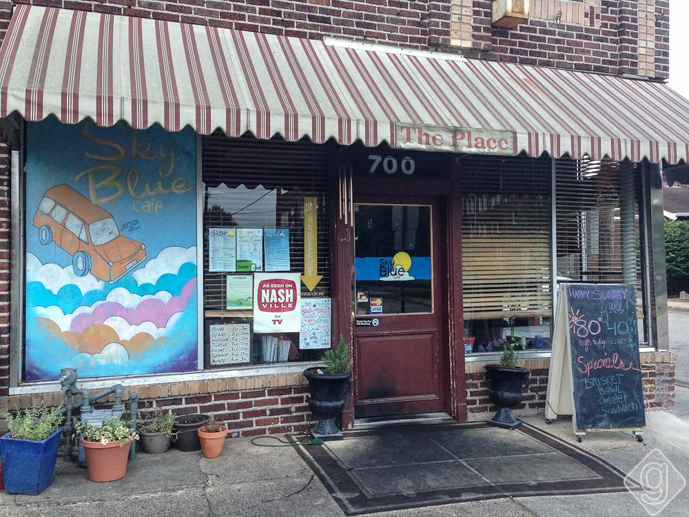 Sky Blue Cafe - East Nashville - Nashville, TN