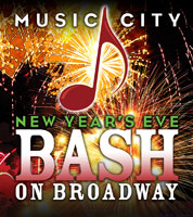 Music City New Years Eve - Bash on Broadway