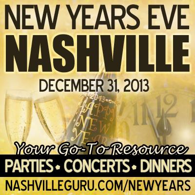 New Years Eve Nashville Graphic