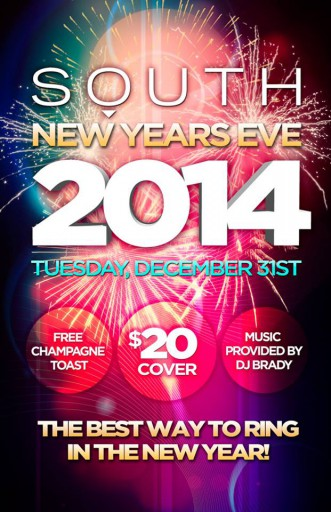 South New Year's Eve 2014
