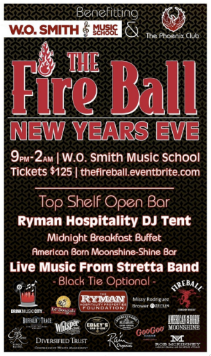 The Fire Ball Ignite the Night NYE Party