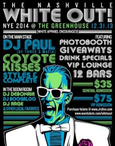 White Out Party - Greenhouse Bar