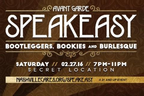 Avant Garde Speakeasy - Nashville CARES
