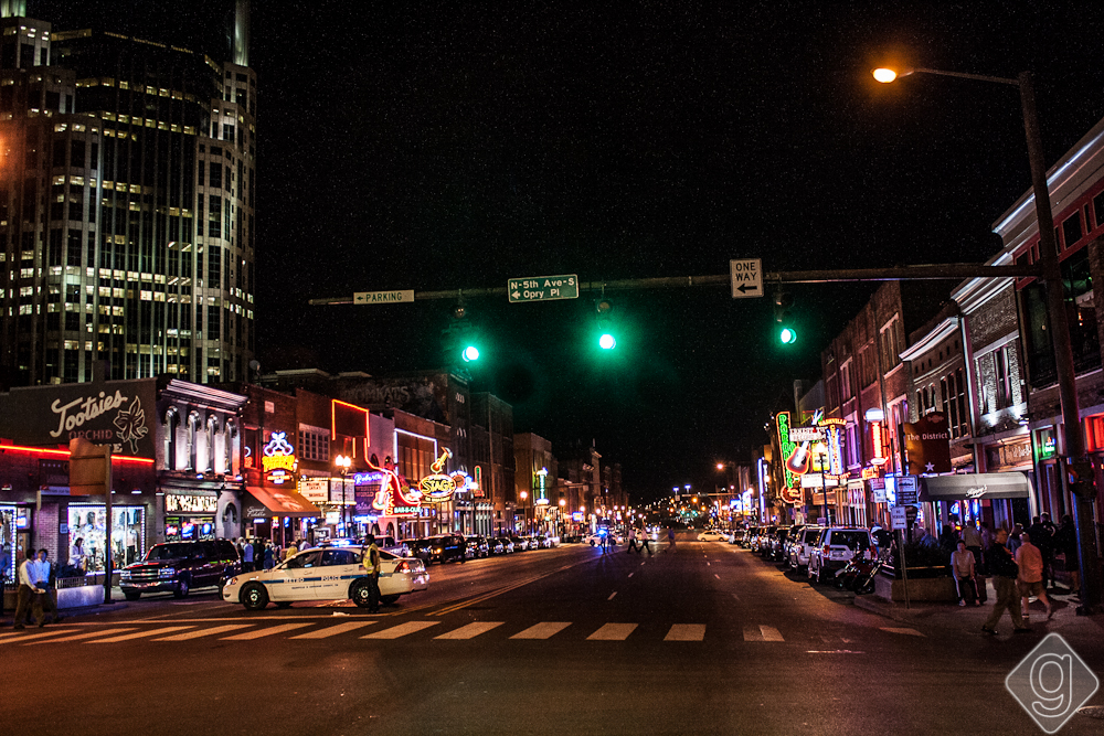 Broadway - Downtown Nashville-17