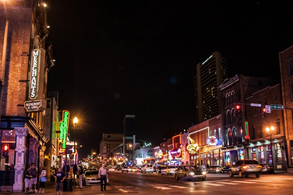 Broadway - Downtown Nashville-7