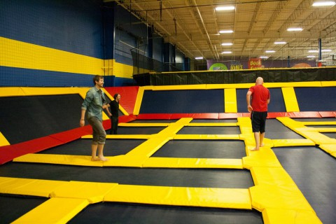 Sky High Trampoline Party