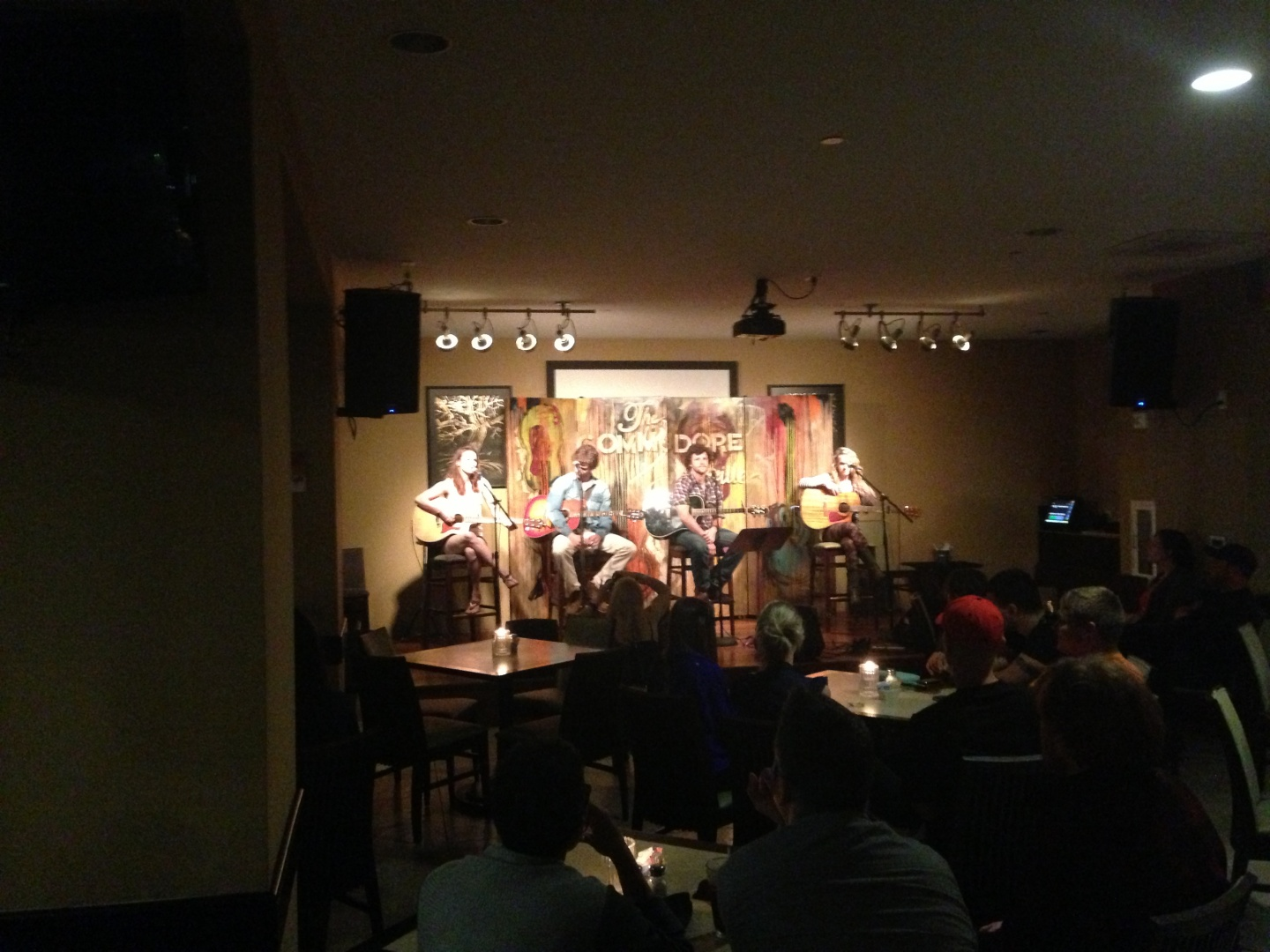 Commodore Grille Songwriters Night