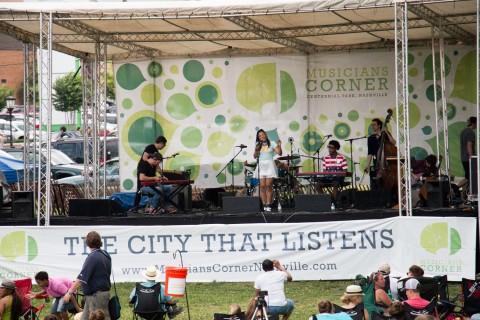 Musicians Corner - Centennial Park - Nashville-11