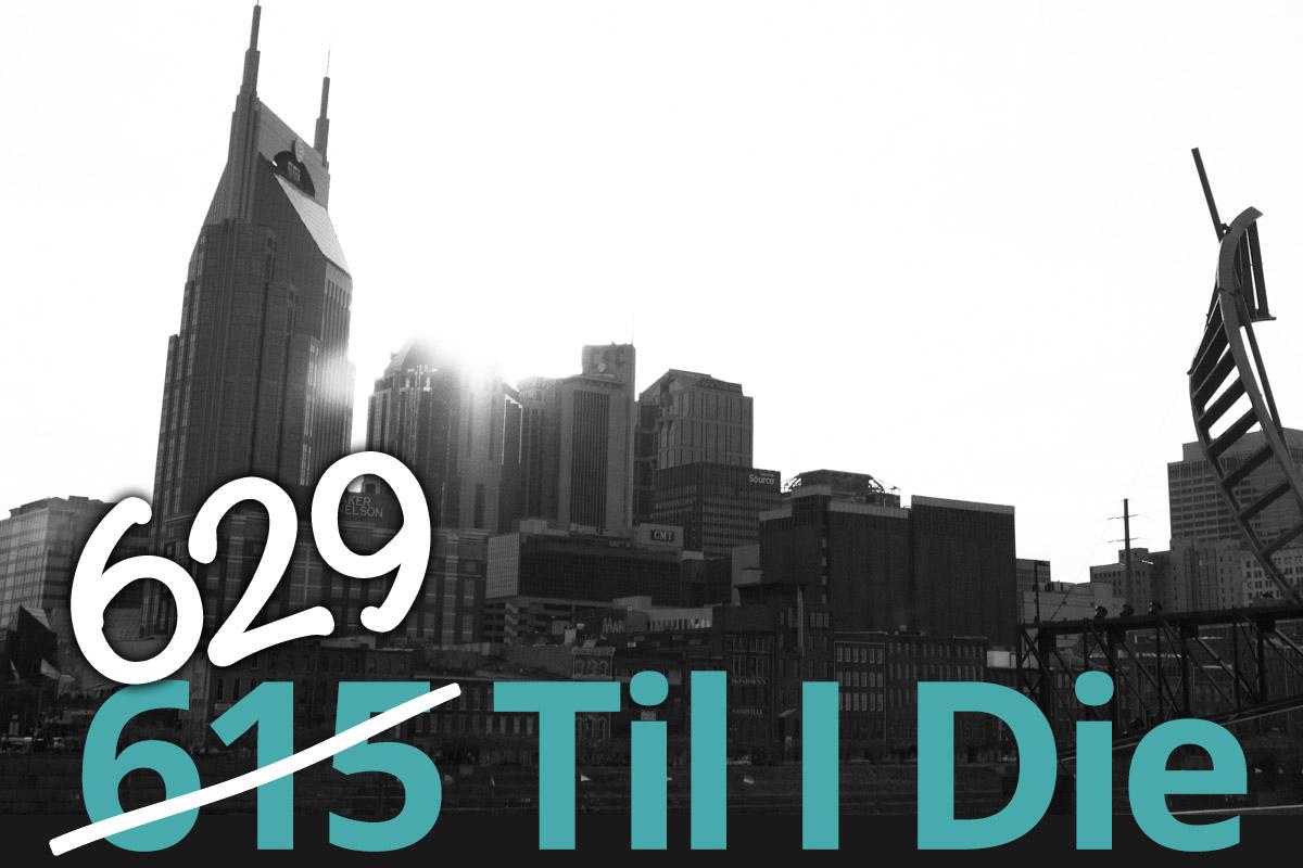 629: The New Nashville Area Code | Nashville Guru