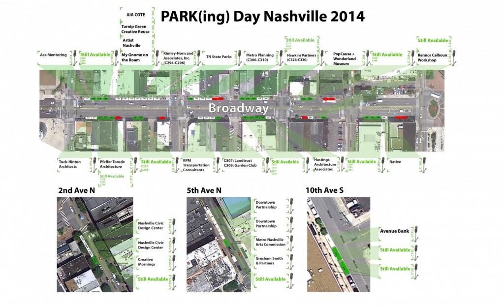 ParkingDay2014 - Map