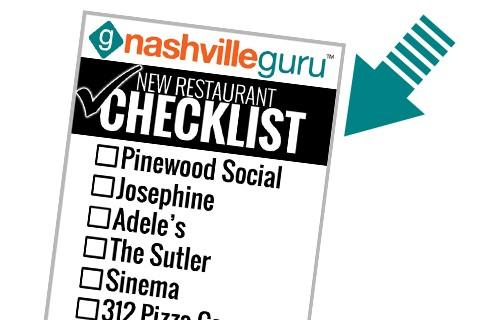 New Restaurant Checklist Download Biz Card