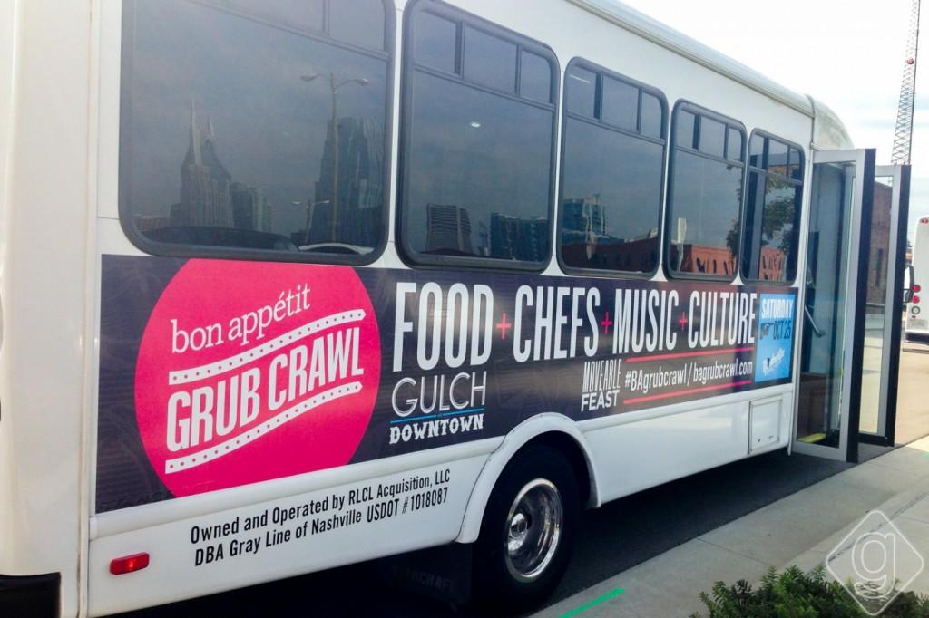 Bon Appetit Grub Crawl Nashville 2014-2