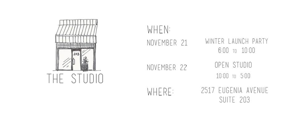 The Studio - Winter Launch Party