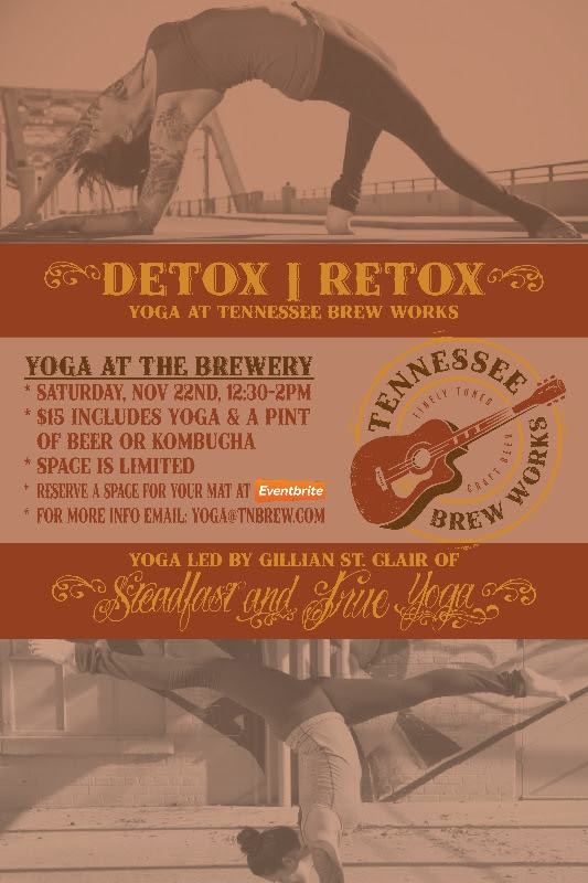 Yoga and Beer at TN Brew Works