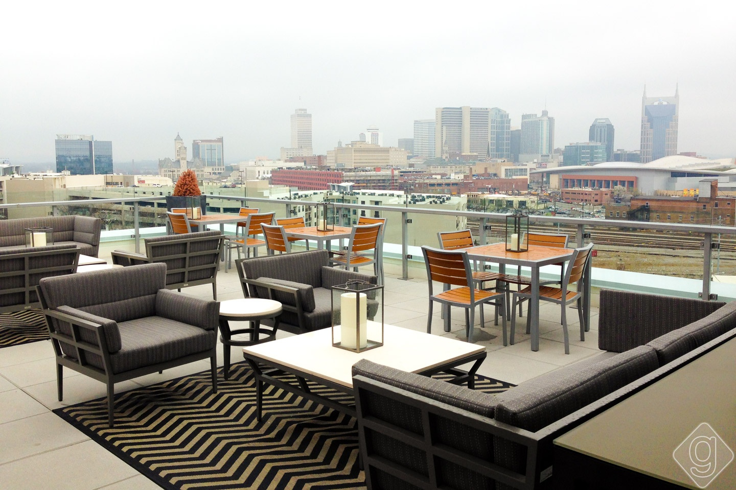 Up Rooftop Lounge Grand Opening Celebration Nashville Guru