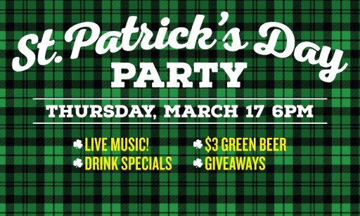 St Patrick's Day The Sutler