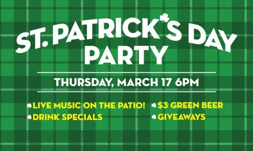 St. Paddy's Day at ML Rose
