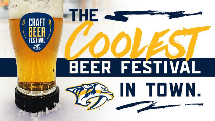 Nashville predators craft beer festival nashville guru for Best craft beer in nashville