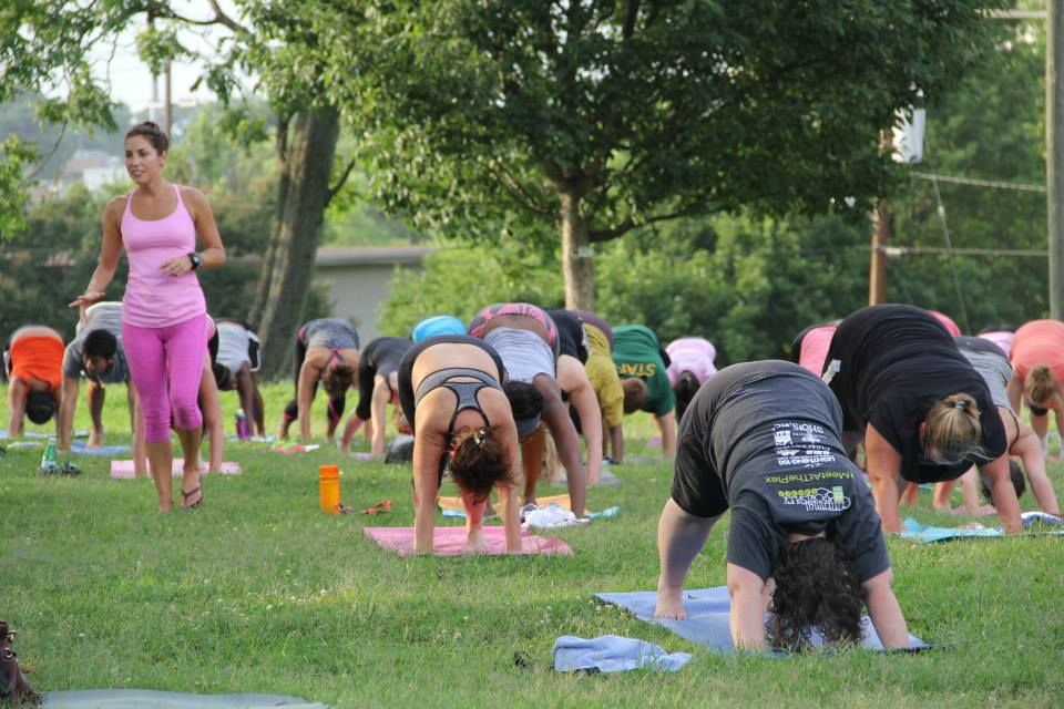 Free Yoga in the Park - Centennial Park
