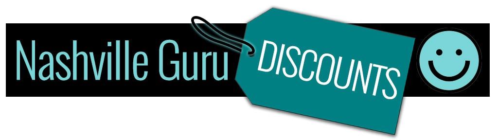 discounts nashville guru