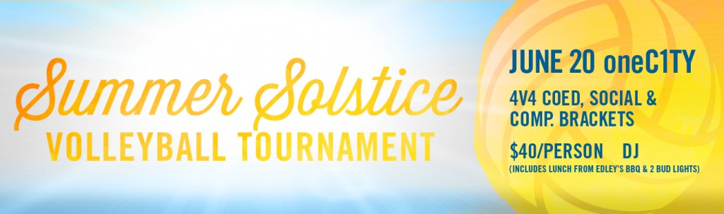 Summer Solstice Volleyball Tournament