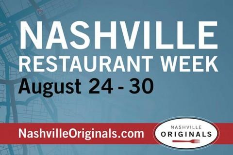Nashville Restaurant Week - August 2015