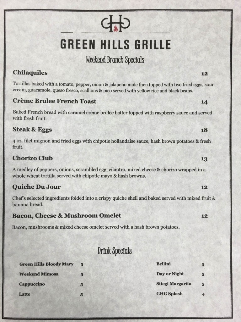 green-hills-grille-brunch-menu