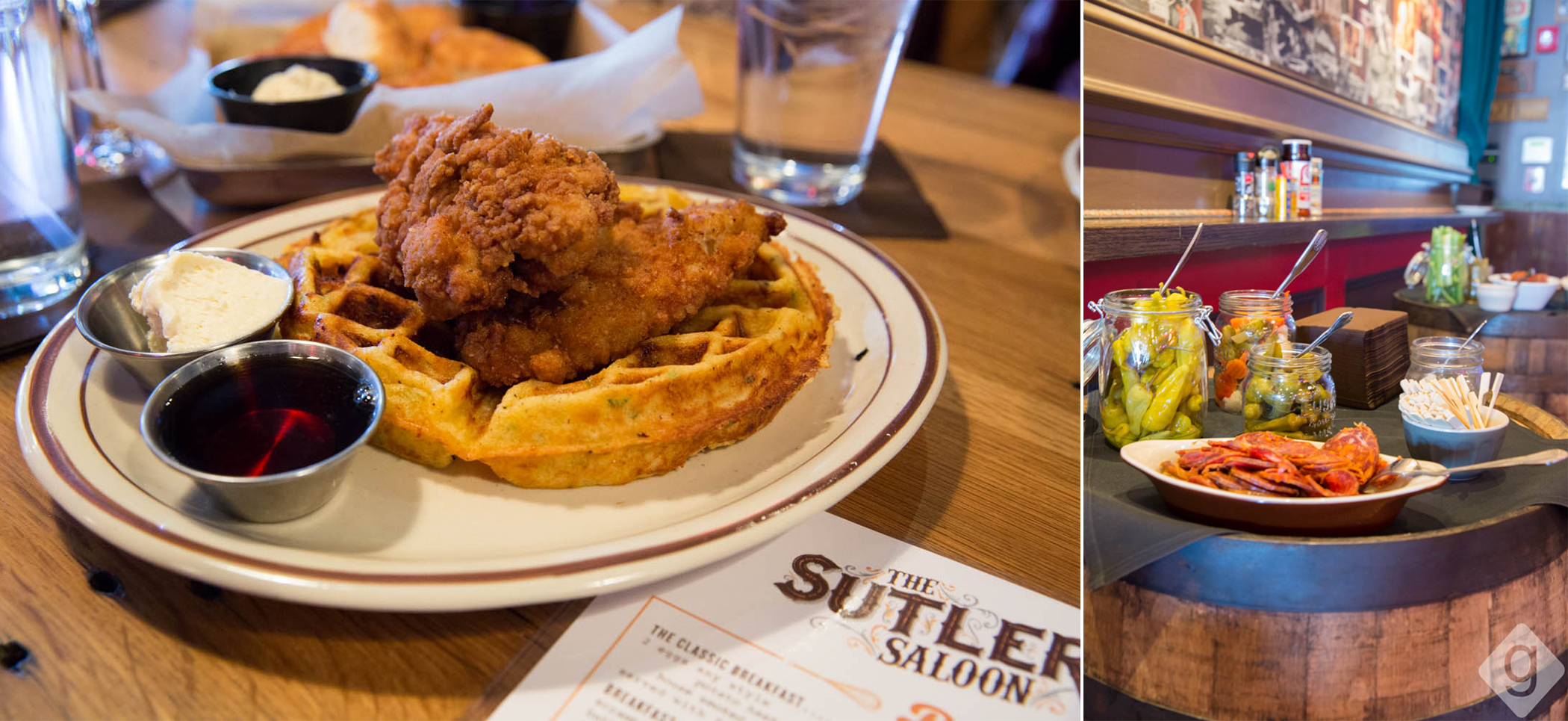 The Sutler - Chicken & Waffles