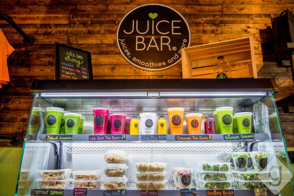 A look inside juice bar hillsboro village nashville guru for Whole food juice bar menu