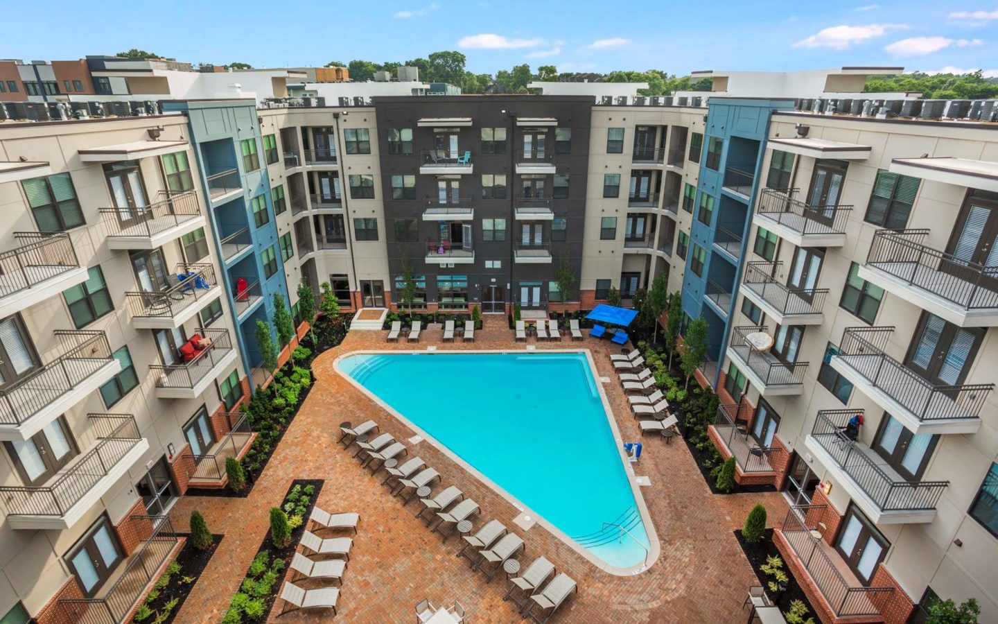 West End Park Apartments Nashville