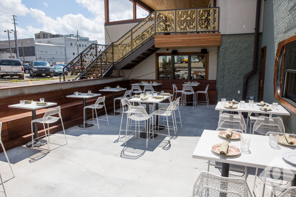 Merveilleux ... Influenced By Global Flavors From Mexico, Italy, France, Korea, Japan,  South America, And More. The Mockingbird Has Two Separate Patiosu2014a Covered  Patio ...