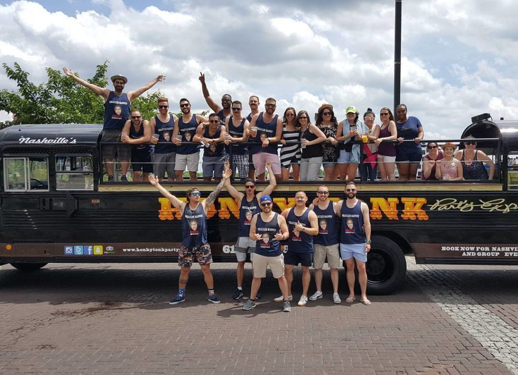 While This Niche Scene Was Once Dominated By Nashville Pedal Tavern A 15 Passenger Party Bicycle