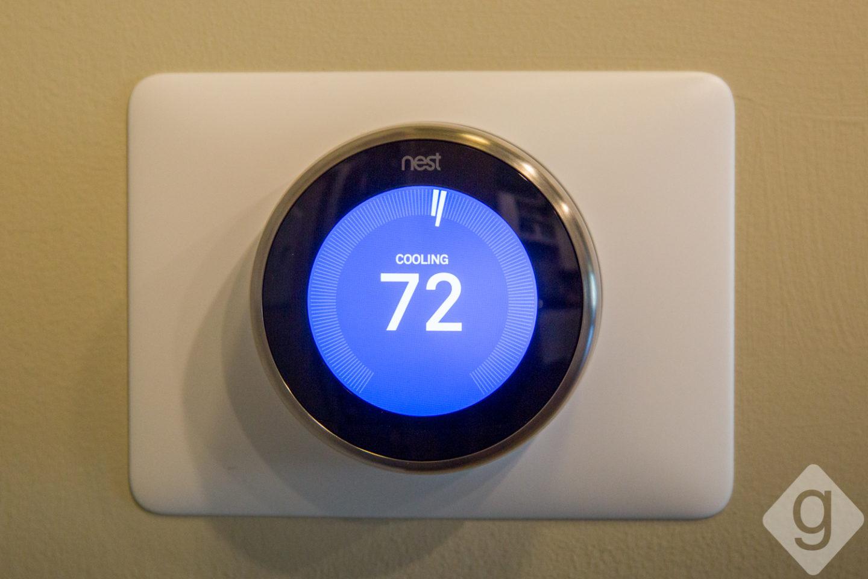 Apartment Tour The Cleo Nashville Guru - Nest thermostat apartment