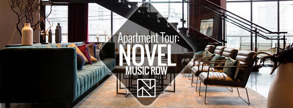 Apartment Tour Novel Music Row Nashville Guru