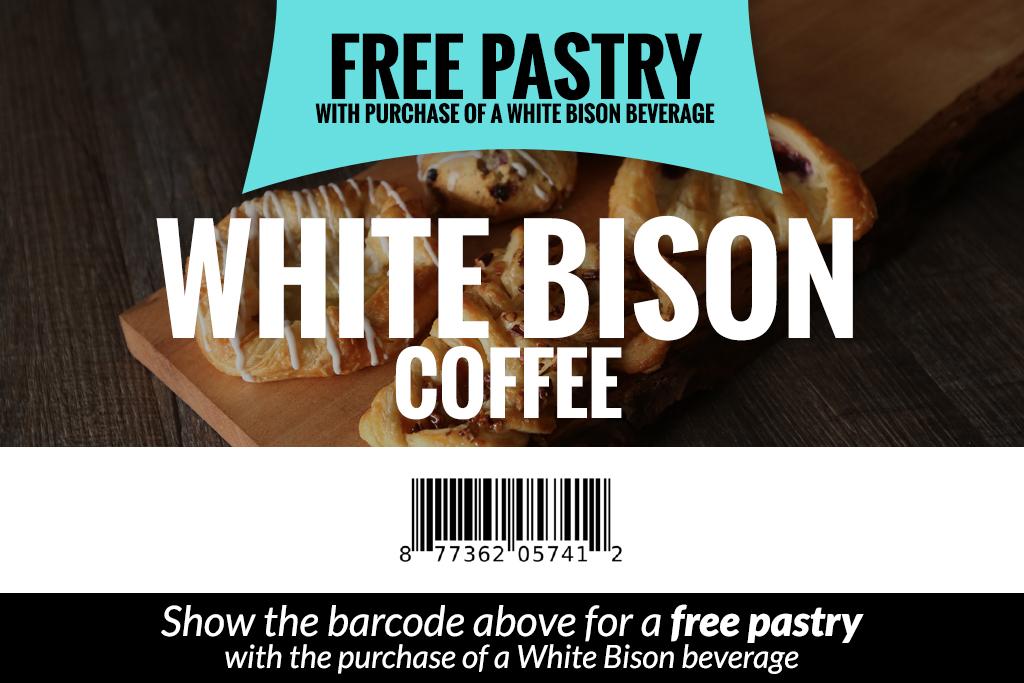 Discount - White Bison Coffee Pastry | Nashville Guru