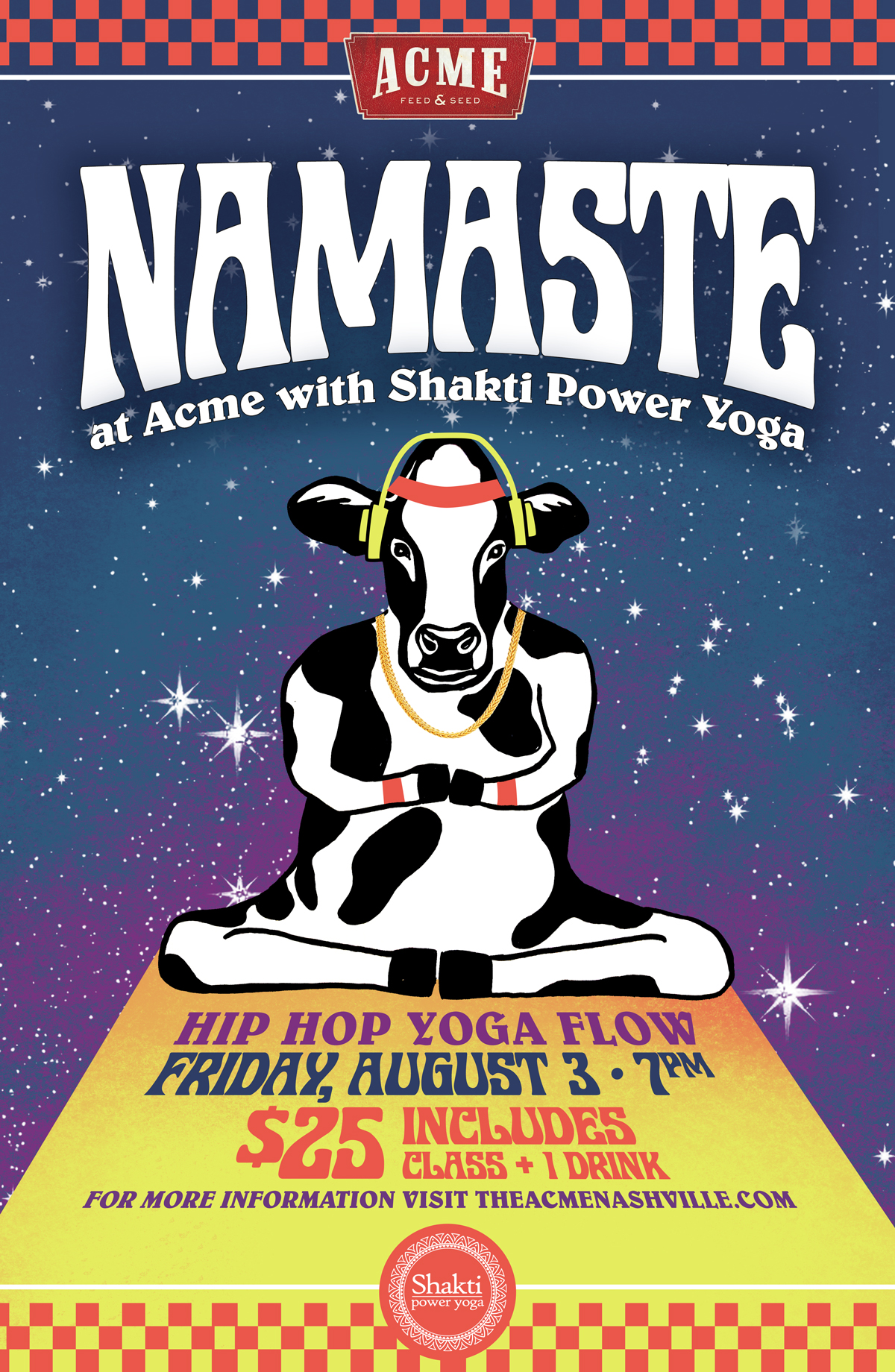 Namaste Hip Hop Yoga Flow Nashville Guru