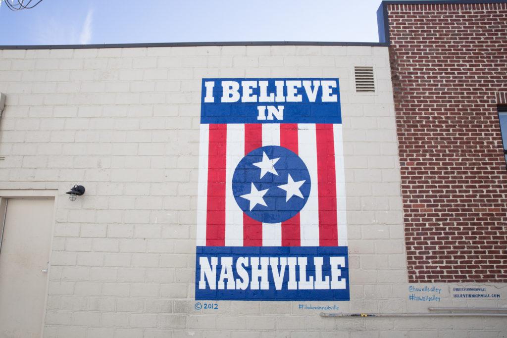 I Believe In Nashville Mural Location