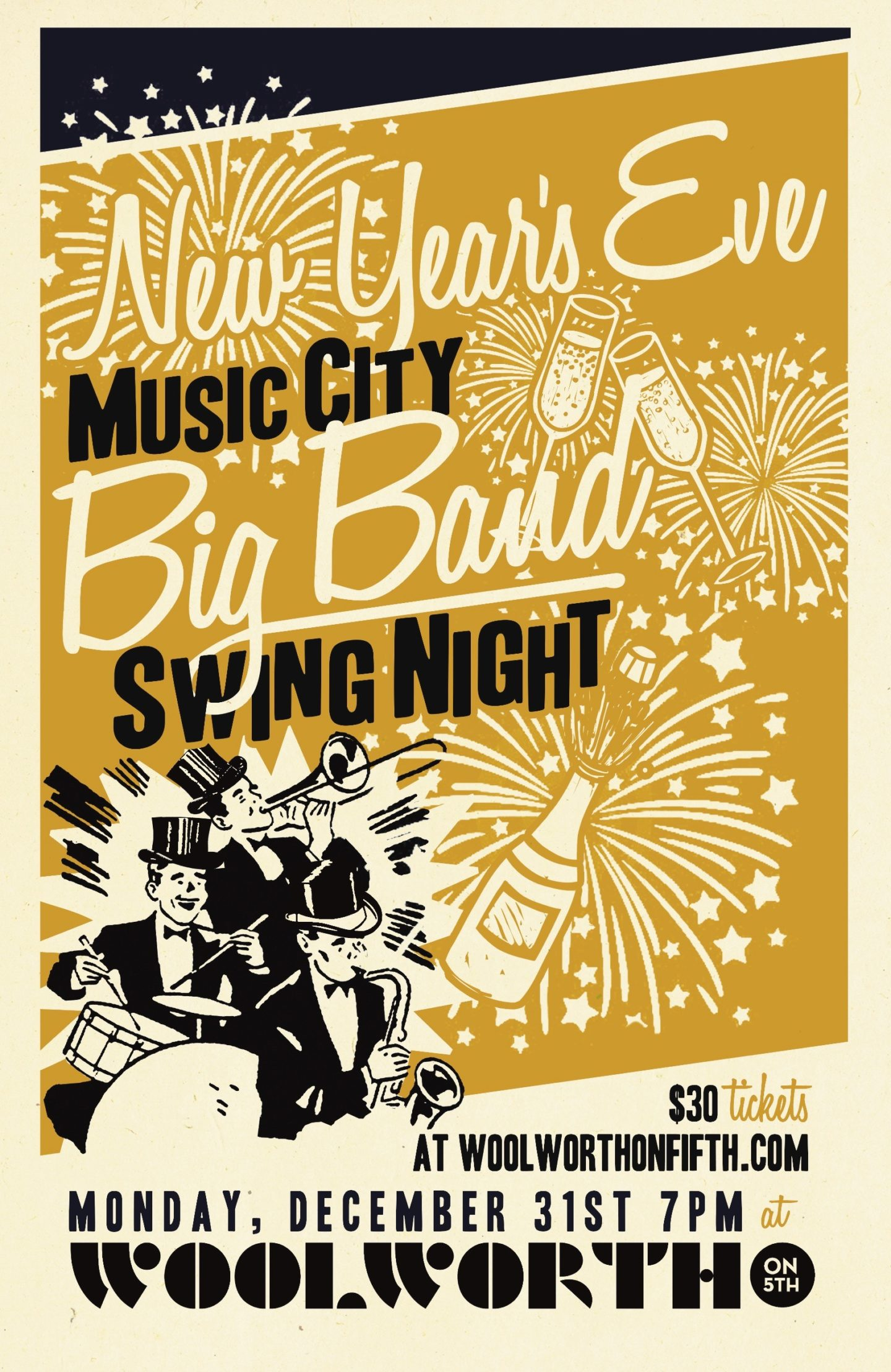 big band new years eve